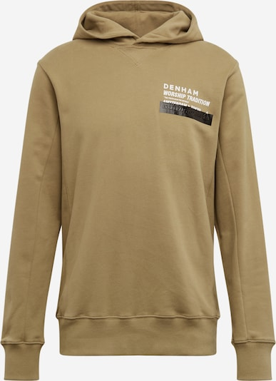 DENHAM Sweatshirt 'WORSHIP TRADITION' in khaki, Produktansicht