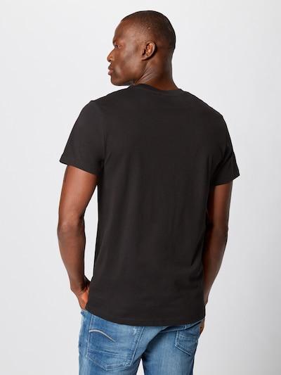 G-Star RAW T-Shirt 'Graphic 8' en jaune / noir: Vue de dos