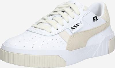 PUMA Sneakers laag 'Cali Lthr Suede x SG' in de kleur Beige / Wit, Productweergave