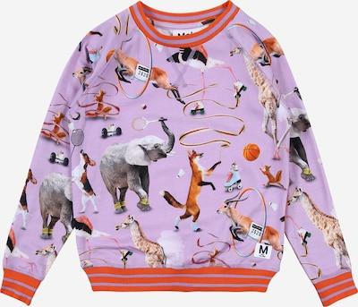 Molo Sweatshirt 'Raewyn' in lila / mischfarben / orange, Produktansicht