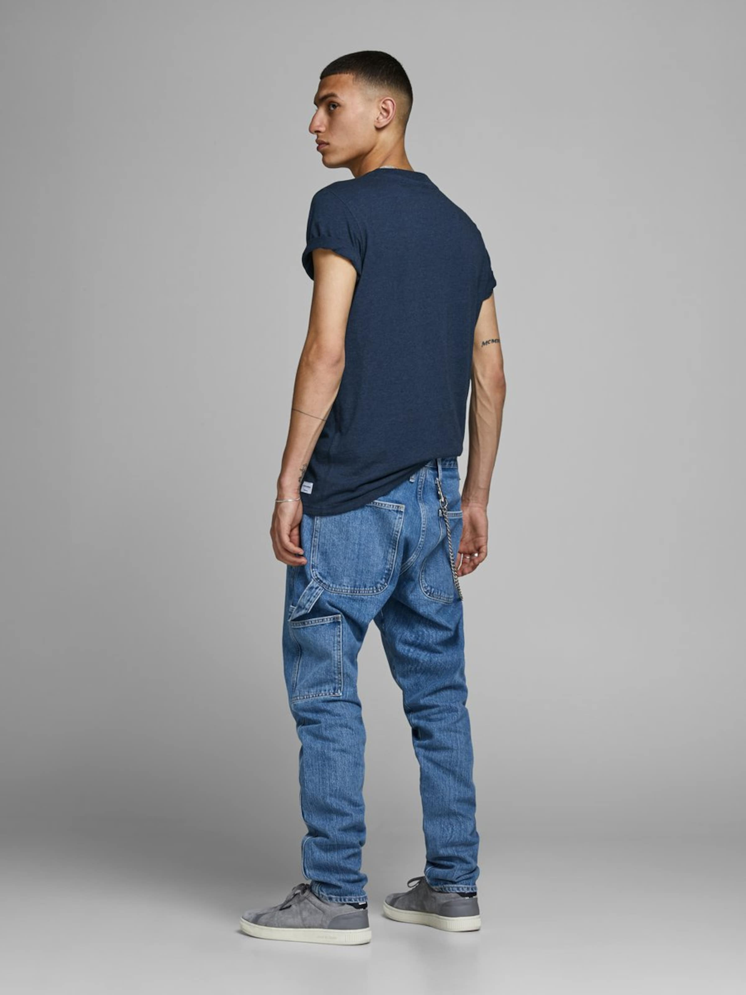 shirt Bleu Jones Jackamp; En Blanc T NuitJaune UMpSzV