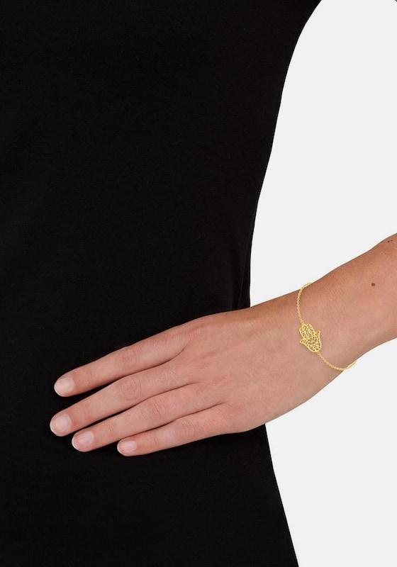 s.Oliver RED LABEL Armband 'Fatimas Hand/Hamsa Hand, 2020055'