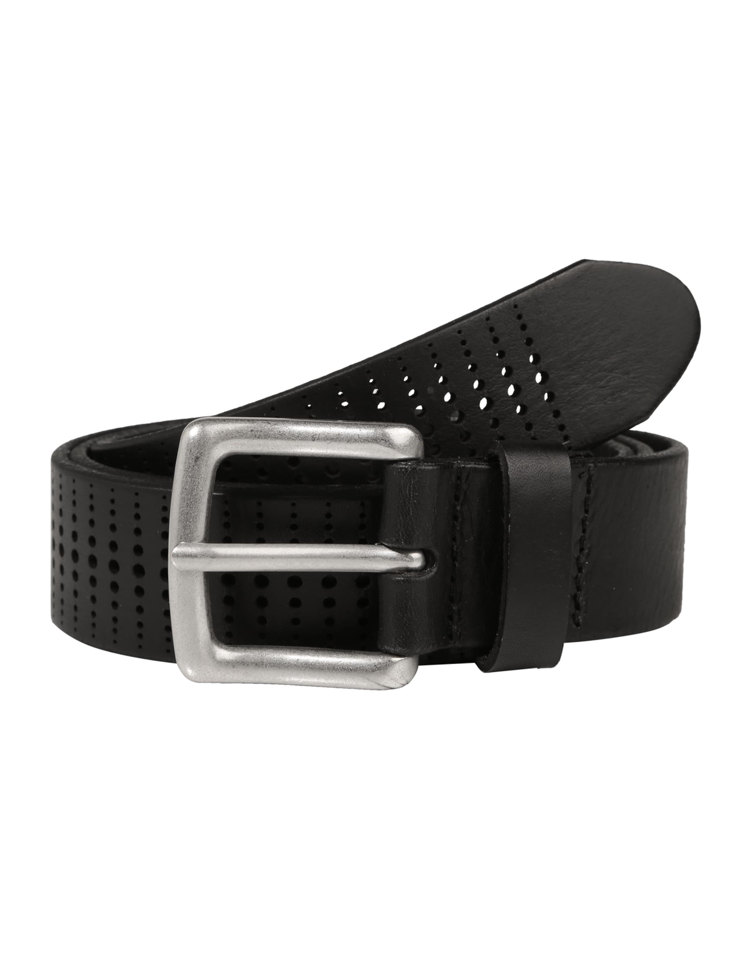 100% Authentisch Zu Verkaufen Günstig Kaufen Marc O'Polo Perforierter Ledergürtel 'B06' Rabatt Mode-Stil XLkygRhh