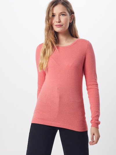 VERO MODA Pullover 'VMMINNIECARE' in pink, Modelansicht