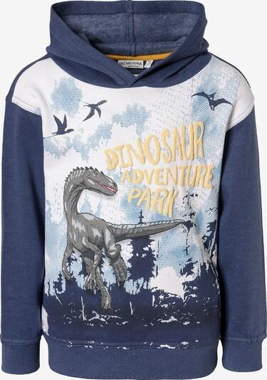 SALT AND PEPPER Pullover 'Dinosaurier' in nachtblau / mischfarben, Produktansicht