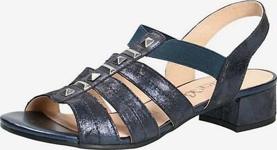 CAPRICE Sandaletten in navy, Produktansicht
