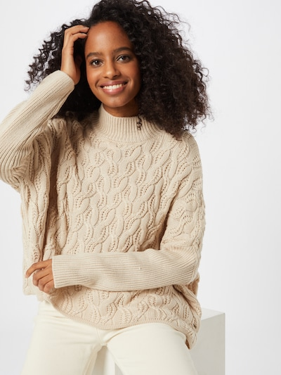 Pepe Jeans Pullover 'Katia' in beige, Modelansicht