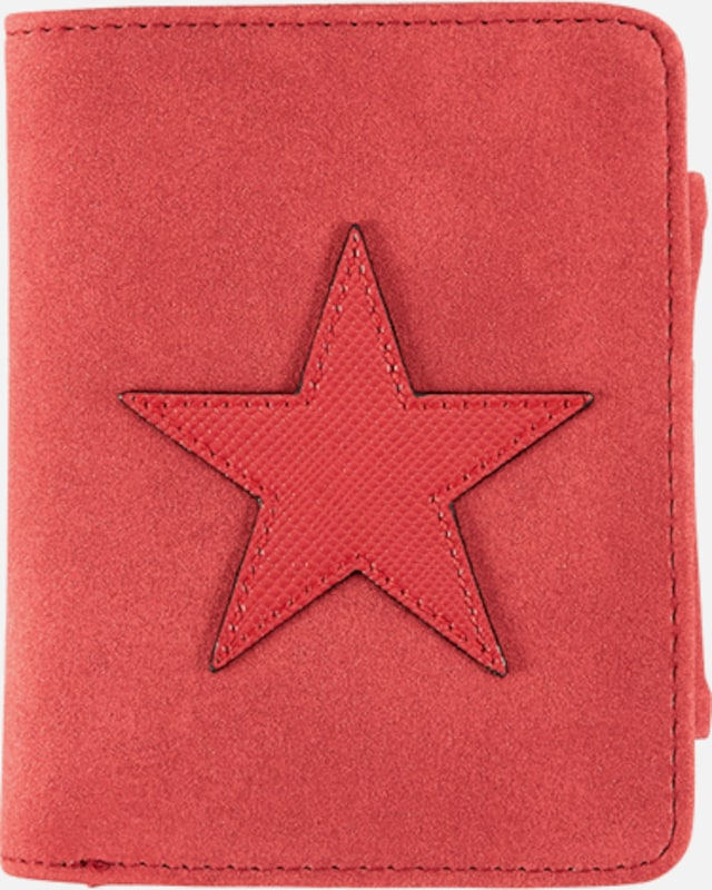 s.Oliver RED LABEL Portemonnaie mit Sternen-Applikation
