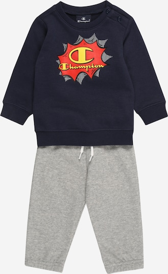 Champion Authentic Athletic Apparel Set 'Crewneck Suit' in de kleur Navy / Grijs, Productweergave