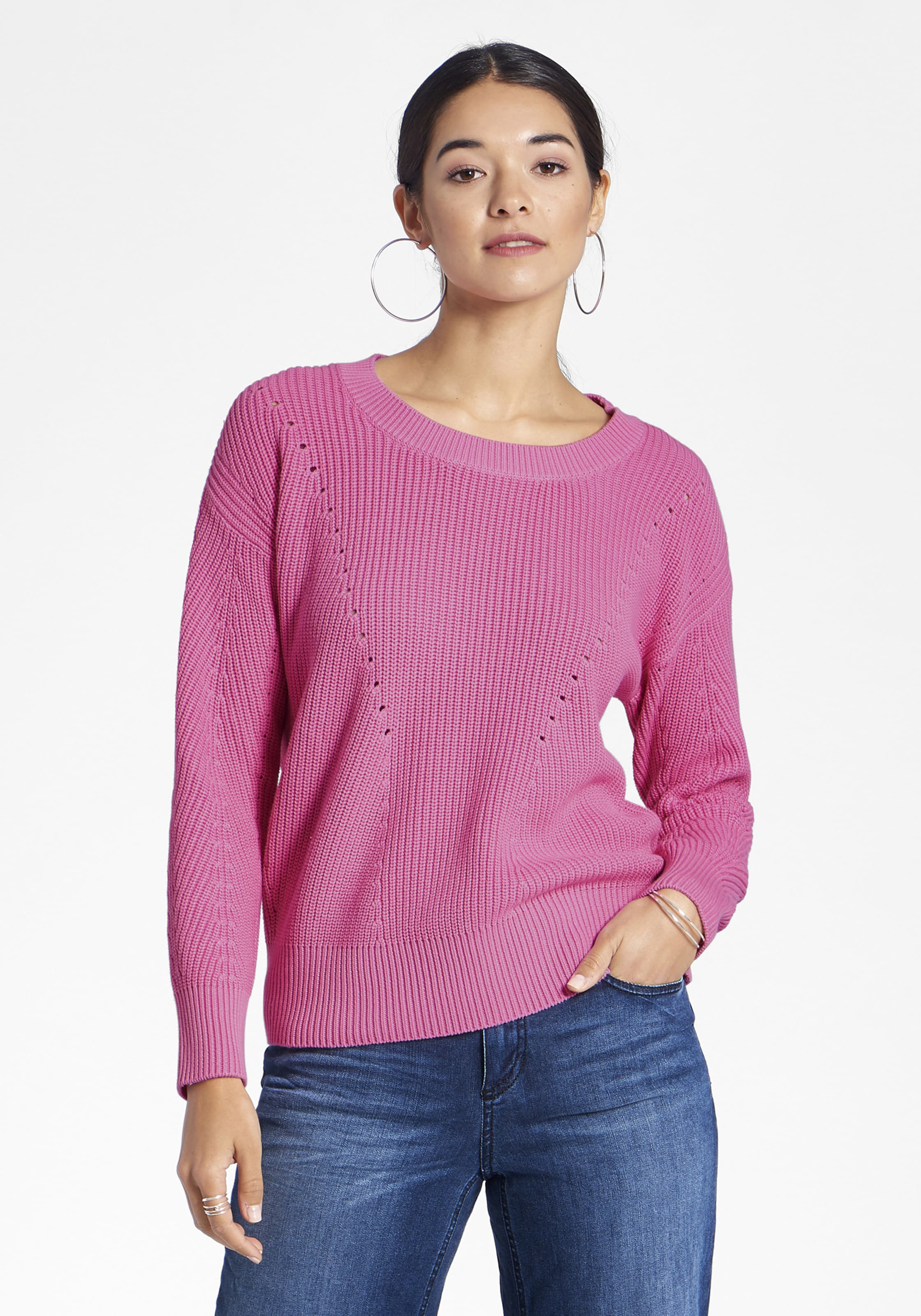 In In Pink Peter Hahn Hahn Peter Pink Pullover Peter Pullover bf76gyYv