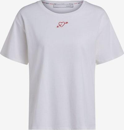 OUI T-Shirt in rot / weiß, Produktansicht
