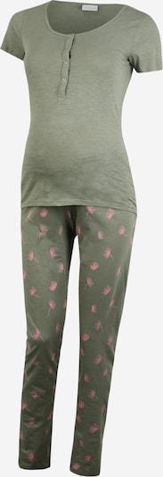 MAMALICIOUS Pyjama 'LIA' in khaki / rosé, Produktansicht