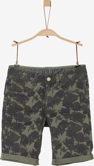 s.Oliver Junior Bermuda in khaki / dunkelgrün, Produktansicht