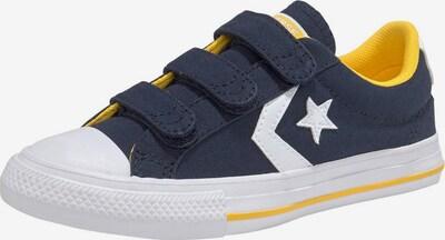 CONVERSE Baskets 'Star Player' en bleu-gris / jaune / blanc, Vue avec produit