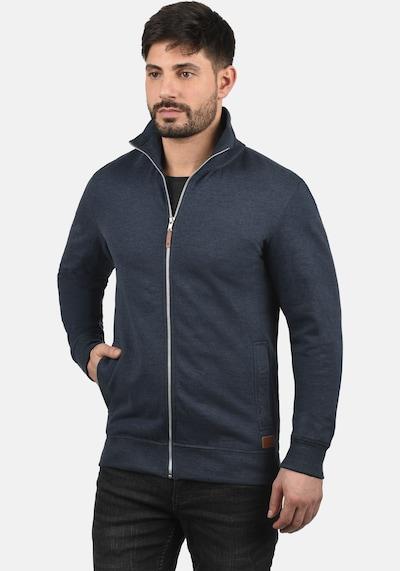 BLEND Sweatjacke 'Alio' in blau / navy, Produktansicht