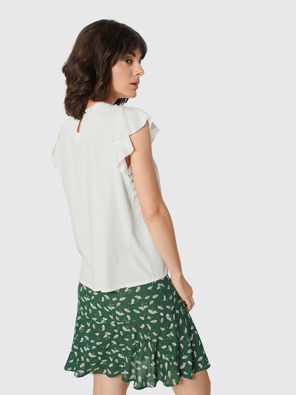 Broadway Nyc Fashion En T 'delfina' Blanc shirt KcuJ3T1lF