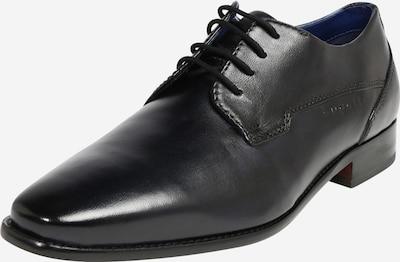 bugatti Čevlji na vezalke | črna barva, Prikaz izdelka