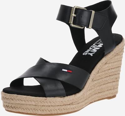 Tommy Jeans Sandale in schwarz, Produktansicht