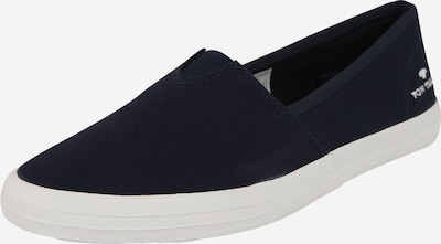 TOM TAILOR Loafer in navy / weiß, Produktansicht