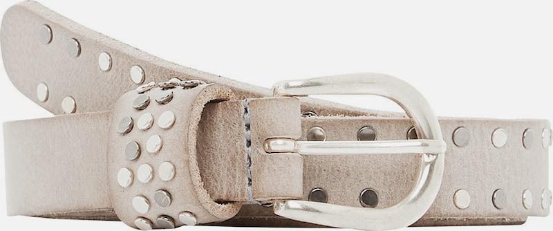 HALLHUBER Leder-Nietengürtel im Vintage-Look