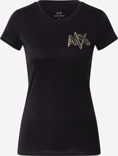 ARMANI EXCHANGE T-Shirt '6Hytfa' in gelb / schwarz, Produktansicht