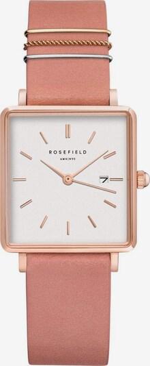 ROSEFIELD Uhr in gold / pink, Produktansicht