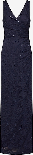 STAR NIGHT Abendkleid 'long dress lace & sequins' in navy, Produktansicht