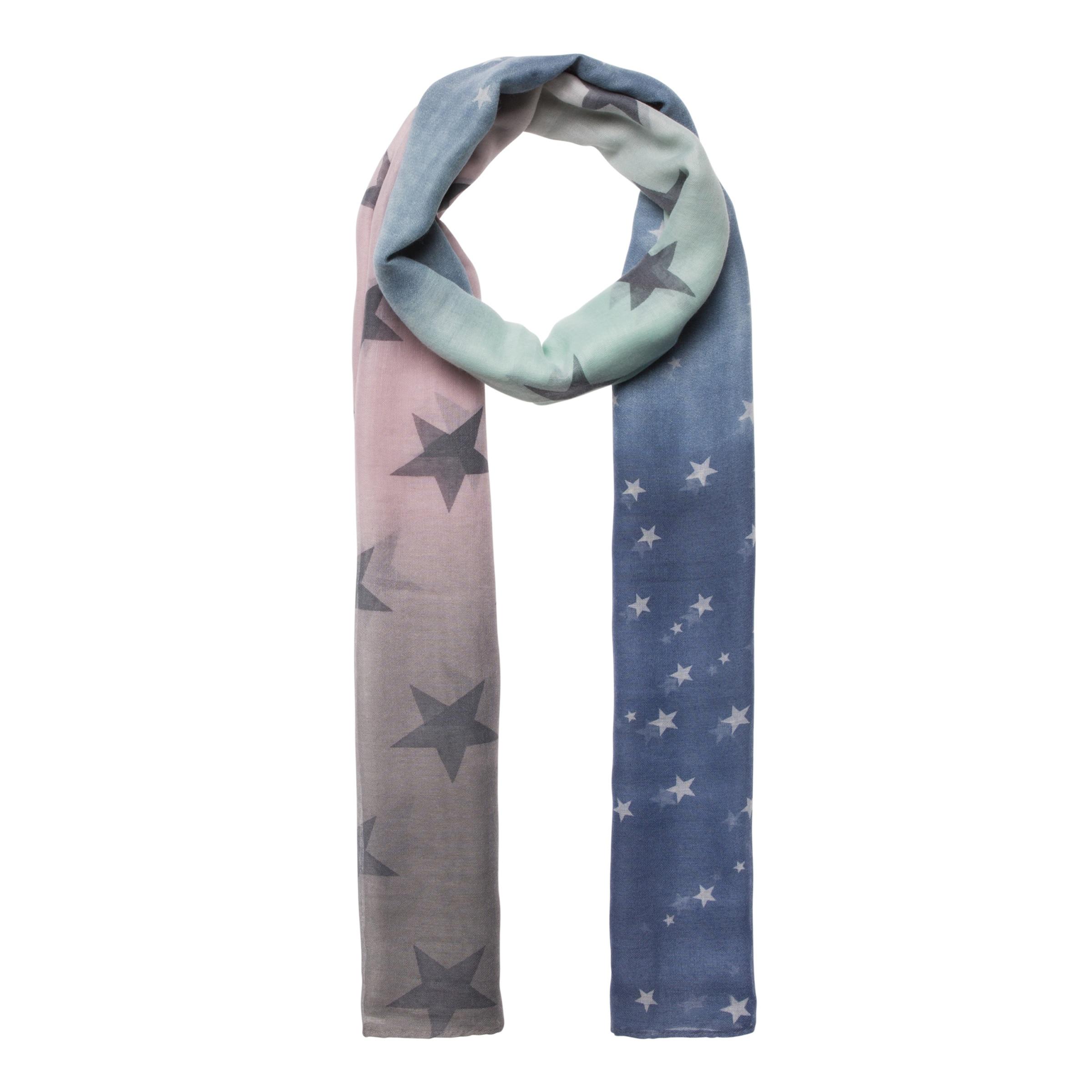 CODELLO Ombré-Schal mit Sternchen-Muster Freies Verschiffen Kauf Für Schöne Online Verkauf In Mode Kaufen Sie Günstig Online Einkaufen Niedriger Preis Versandkosten Für Online cBfRyV