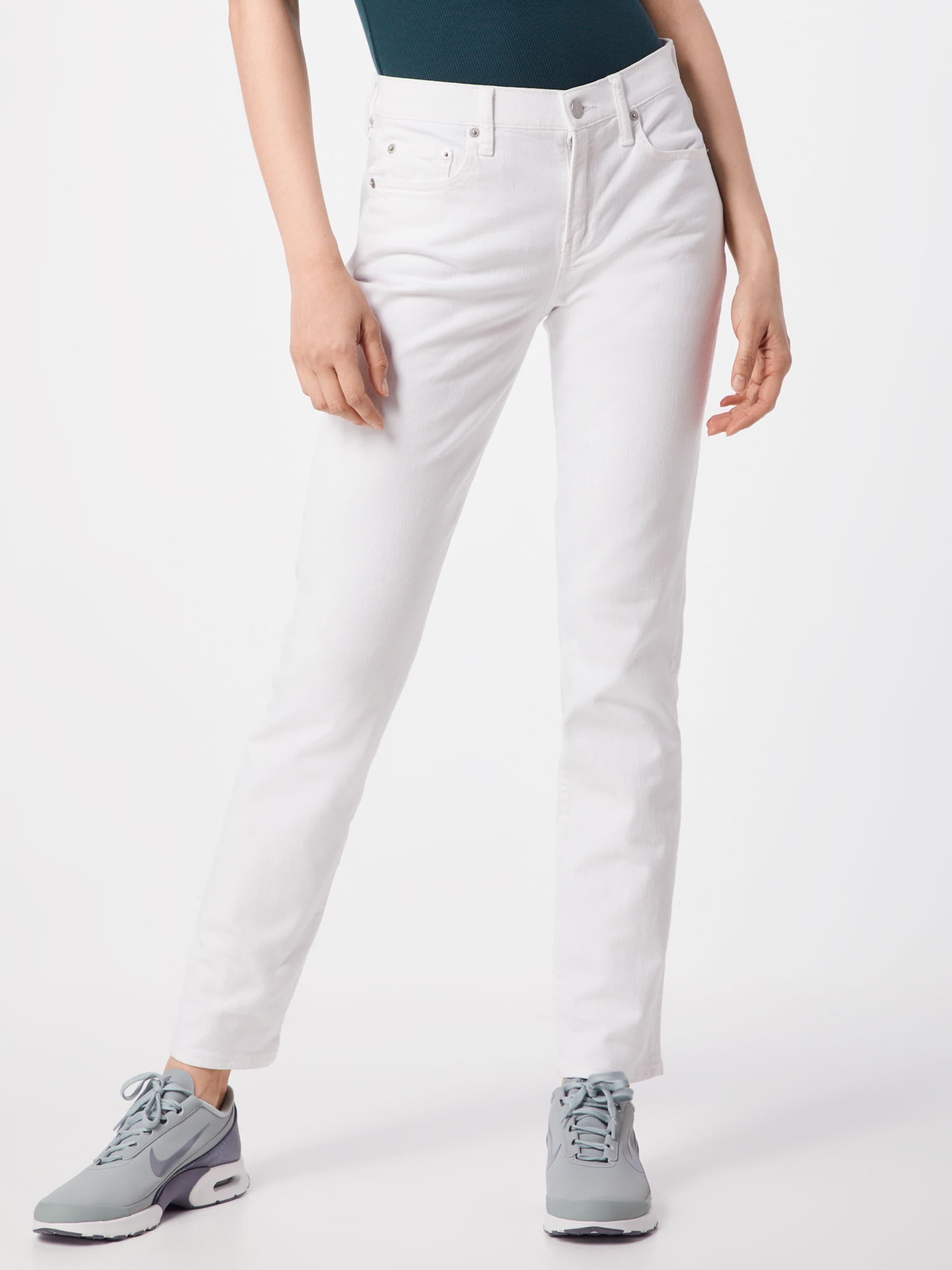 White' Jeans Weiß Gap Strght 'cl Optic In eDIWE2YbH9