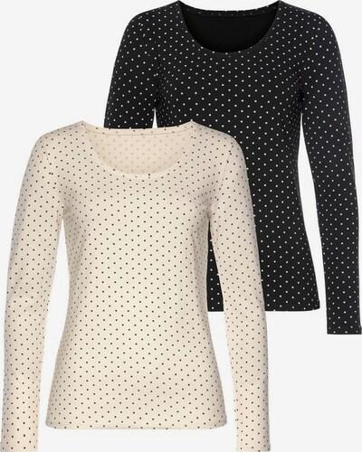 Tricou VIVANCE pe bleumarin / alb, Vizualizare produs