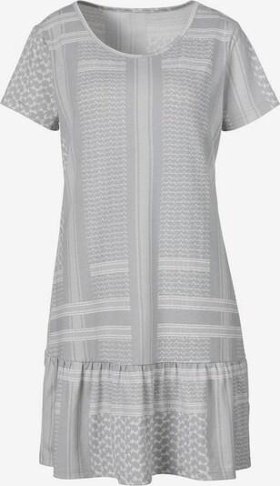 s.Oliver Nachthemd in grau / hellgrau, Produktansicht