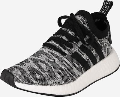 ADIDAS ORIGINALS Sneaker 'NMD R2 PK' in grau / orange / schwarz / weiß, Produktansicht