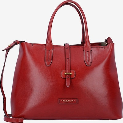 The Bridge Dalston Shopper Tasche Leder 36 cm in rot, Produktansicht