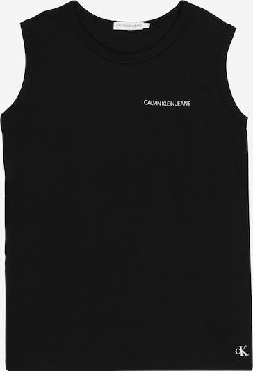 Calvin Klein Jeans Top 'WAFFLE SLEEVELESS TOP' in schwarz, Produktansicht