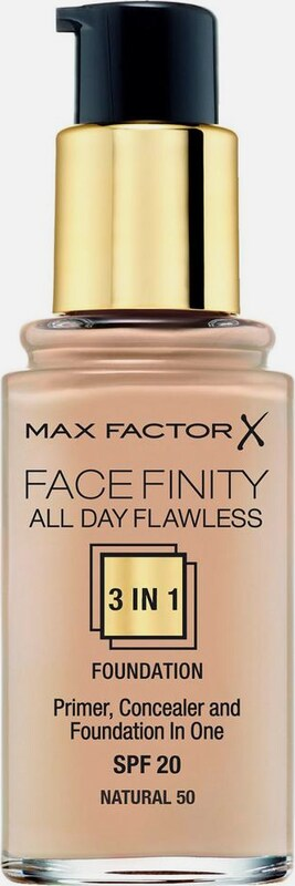 MAX FACTOR Foundation 'All Day Flawless' in hellbeige, Produktansicht