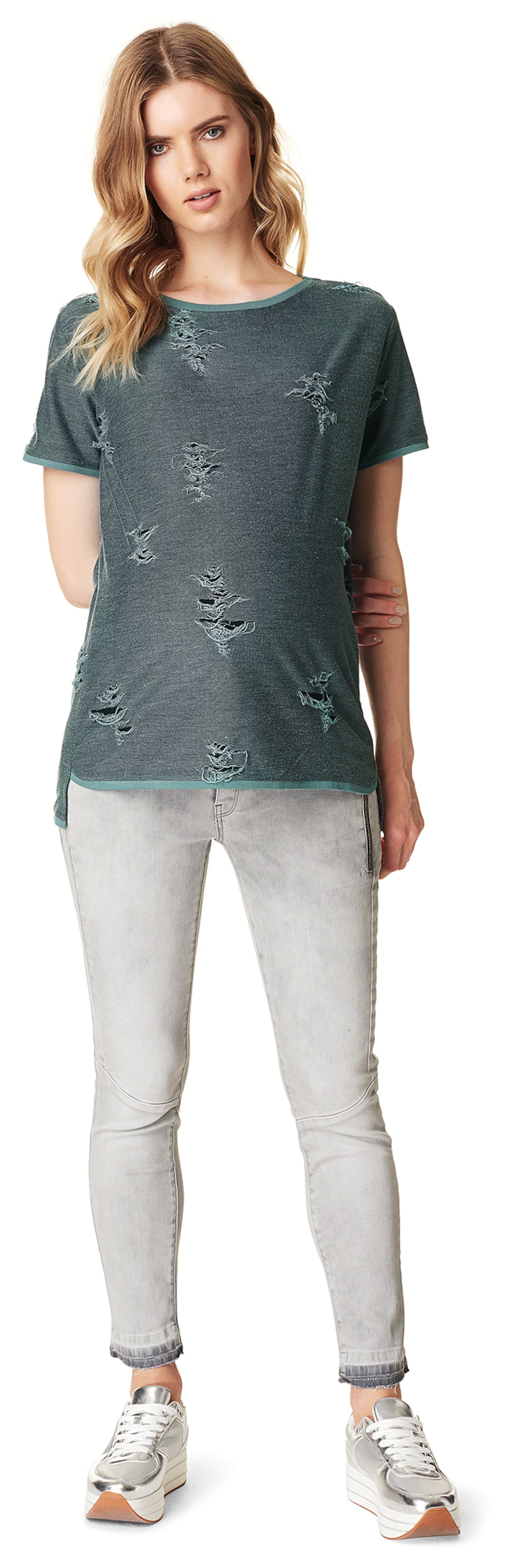 Verkauf Beliebt Noppies Pullover 'Destroyed' 100% Original Steckdose Shop wgJhvrTk7