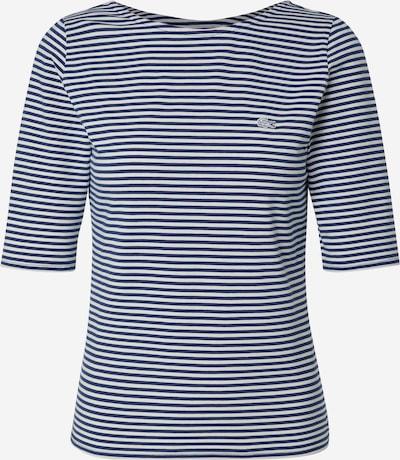 LACOSTE T-shirt en bleu foncé / blanc cassé, Vue avec produit