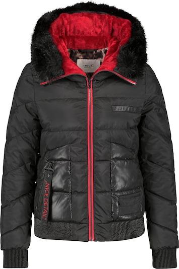 TAIFUN Winterjas in de kleur Oranjerood / Zwart gemêleerd, Productweergave