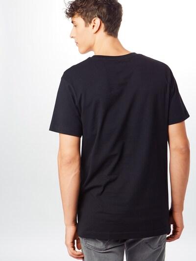 Mister Tee Shirt 'King James LA Tee' in de kleur Geel / Zwart: Achteraanzicht