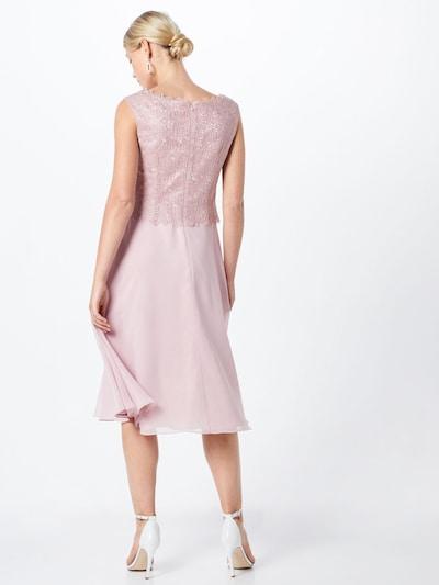 Kokteilinė suknelė iš Vera Mont , spalva - rožių spalva: Vaizdas iš galinės pusės