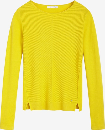 Sandwich Pullover in gelb, Produktansicht