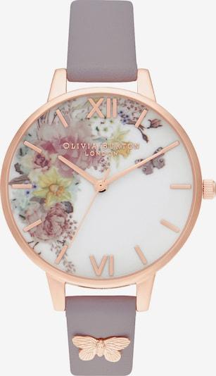 Olivia Burton Uhr 'Garden' in rosegold / flieder / mischfarben, Produktansicht