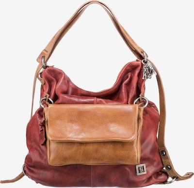 A.S.98 Handtasche in safran / pastellrot, Produktansicht