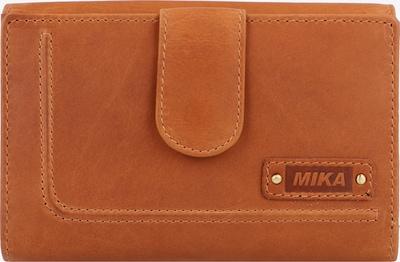MIKA Portemonnee in de kleur Cognac, Productweergave