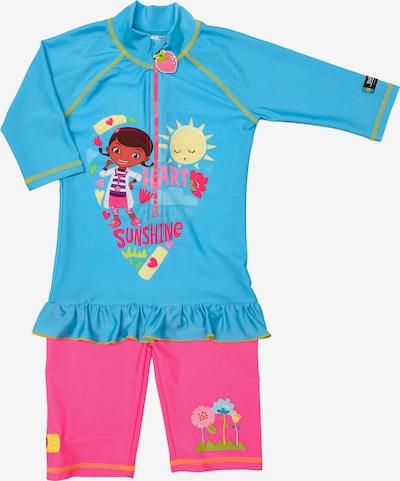 SWIMPY Badeanzug 'Doc McStuffins' in aqua / mischfarben / pink, Produktansicht