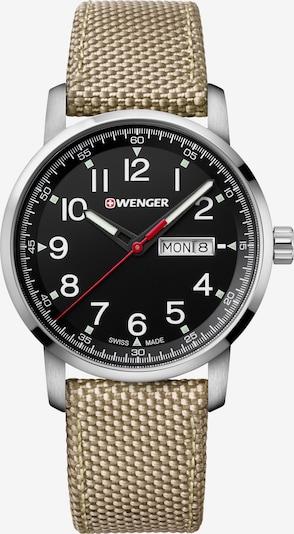 WENGER Analoog horloge 'Attitude Heritage' in de kleur Goud / Zwart, Productweergave