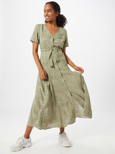 Moves Kleit 'Zalo' oliiv / segavärvid: Eestvaade