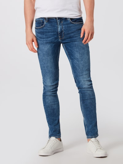 BLEND Jeans 'Jet Slim Taperd Multiflex' in blue denim, Modelansicht