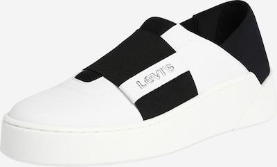 LEVI'S Baskets basses 'MULLET S SABOT' en noir / blanc, Vue avec produit