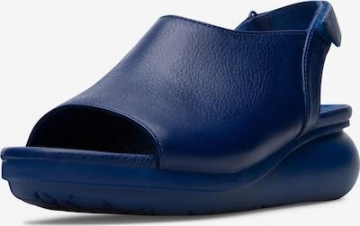 CAMPER Escarpins ' Balloon ' en bleu, Vue avec produit
